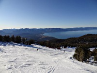 Skiing and Snowboard by Lake Tahoe (Heavenly)